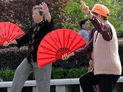 Tai Chi in China