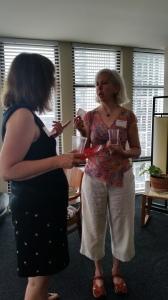 July 2015 Open House Denise & Julia