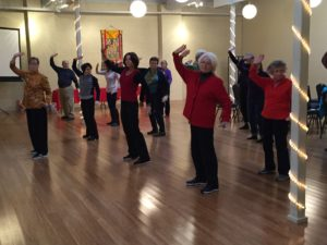 2017 Chinese New Year Michelle Leading QiGong